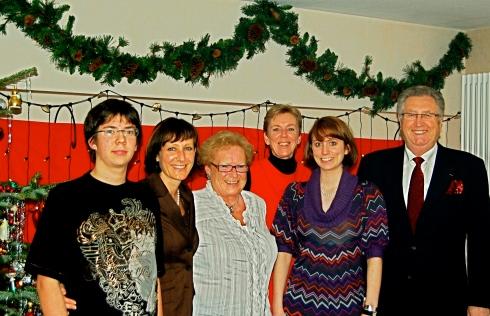 Weihnachten 2008 in Bachmichels Haus