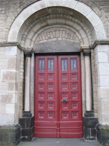 Irina, Kirchenportal St Laurentius, Grefrath