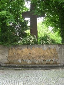 Eingang Kreuzweg Altötting