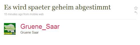 Grune Saar